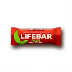 Lifebar plus brazil a guarana BIO 47 g Lifefood - 15 ks