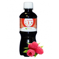 L - karnitín sirup malina 300 ml